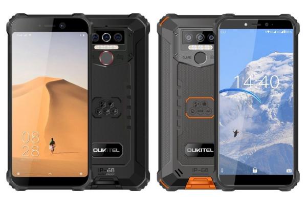 Telefon mobil Oukitel WP5 Lite,IPS 5.5inch, 3GB RAM, 32GB ROM, Android 9.0, Helio A22, PowerVR GE8320, Dual SIM,Quad Core, 8000mAh 0