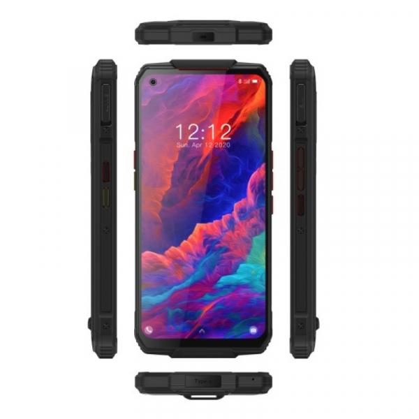 Pachet telefon mobil Oukitel WP7 8/128 cu modul sterilizator UVC si modul lanterna, Negru 5
