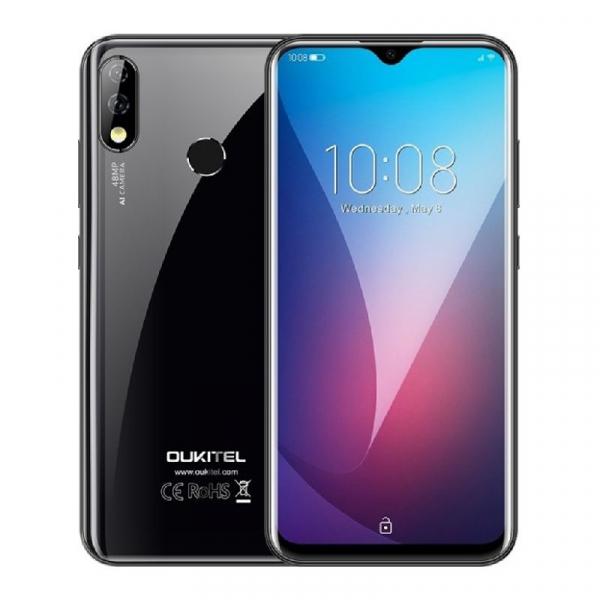 Telefon mobil Oukitel Y4800,6 GB RAM, 128 GB ROM, Android 9.1, MediaTek Helio P70, Octa Core, 6.3 inch, 4000 mAh, Dual SIM 1