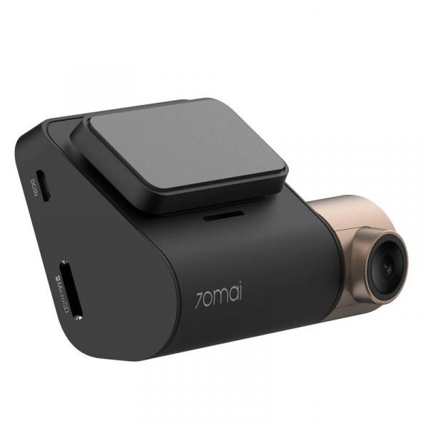 Pachet camera auto Xiaomi 70Mai Midrive D08 Dash Cam Lite + Modul GPS D03, 1080p, Wifi, Inregistrare 130 grade, Giroscop, 500mAh 2