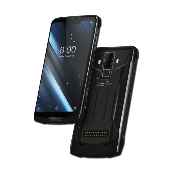Pachet telefon mobilmodularDoogee S90 Android 8.1 OctaCore 6GB RAM 128GB ROM Waterproof + Modul baterie 5000mAh 1