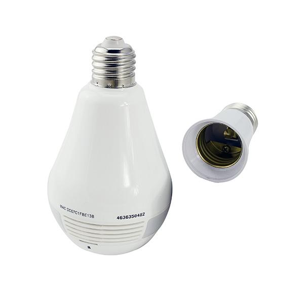 Panoramic Camera B2R,  2 MP, Camera Tip Bec , cu iluminare, Alarma, unghi de vizualizare de 360 grade, Wireless, AP - DualStore 4