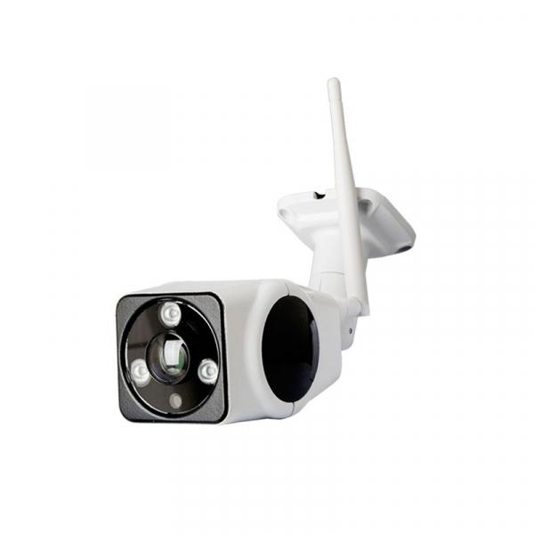 Panoramic Camera V380, 2 MP, Unghi de vizualizare 180 grade, Wireless, Night Vision Microfon, Difuzor, Slot Card 1