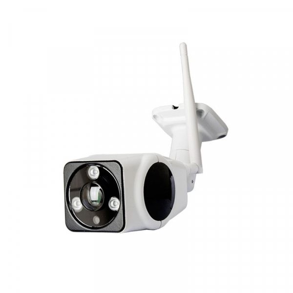 Panoramic Camera V380, 2 MP, Unghi de vizualizare 360 grade, Waterproof, Wireless, Night Vision, Microfon, Difuzor, Slot Card 1