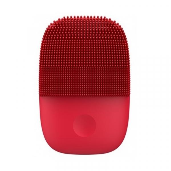 Perie electrica de masaj si curatare faciala Xiaomi inFace Sonic MS2000-5 Rosu, 3 zone de curatare, 5 trepte de viteza, IPX7 imagine dualstore.ro 2021