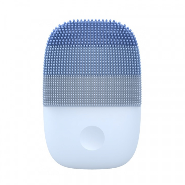 Perie electrica de masaj si curatare faciala Xiaomi inFace Sonic MS2000-5 Albastru, 3 zone de curatare, 5 trepte de viteza, IPX7