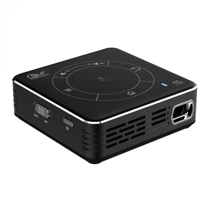 Mini proiector portabil DLP CSQ C99 4/32 Negru [1]