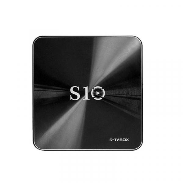R-TV BOX S10 KODI 18 DDR4 3GB eMMC 32GB Android 7.1 4K TV Box S912 AC WIFI Gigabit LAN Bluetooth 4.1 imagine