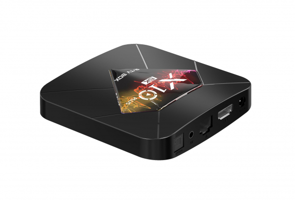 R-TV BOX X10 Plus, 6K, Android 9.0, Allwinner H6 CPU, QuadCore,2.4G WiFi, 4GB RAM, 32GB ROM, USB 3.0 5