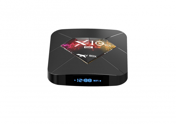 R-TV BOX X10 Plus, 6K, Android 9.0, Allwinner H6 CPU, QuadCore,2.4G WiFi, 4GB RAM, 32GB ROM, USB 3.0 3