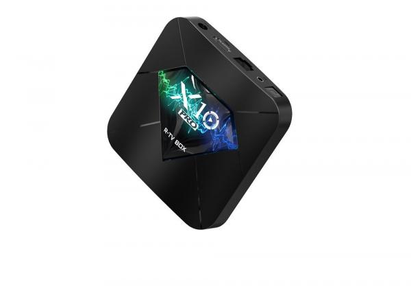 R-TV BOX X10 PRO Smart Media Player, 3D, 4K HDR, RAM 4GB, ROM 32GB, Android 8.1, Quad Core 4