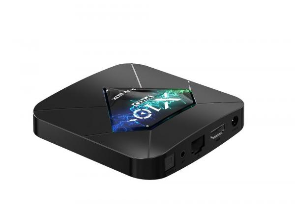 R-TV BOX X10 PRO Smart Media Player, 3D, 4K HDR, RAM 4GB, ROM 64GB, Android 8.1, Quad Core 5