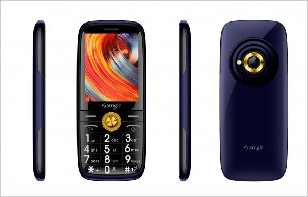Telefon mobil Samgle Captain 3G, QVGA 2.4 inch, Bluetooth, Digi 3G, Camera, Slot Card, Radio FM, Internet, Dual SIM 9