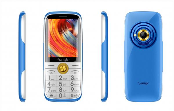 Telefon mobil Samgle Captain 3G, QVGA 2.4 inch, Bluetooth, Digi 3G, Camera, Slot Card, Radio FM, Internet, Dual SIM 6