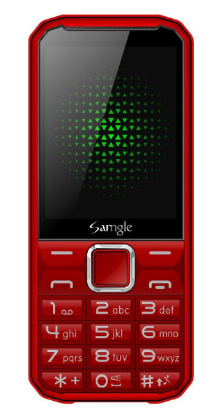 Telefon mobil Samgle F9 Hulk 3G Rosu Resigilat 0