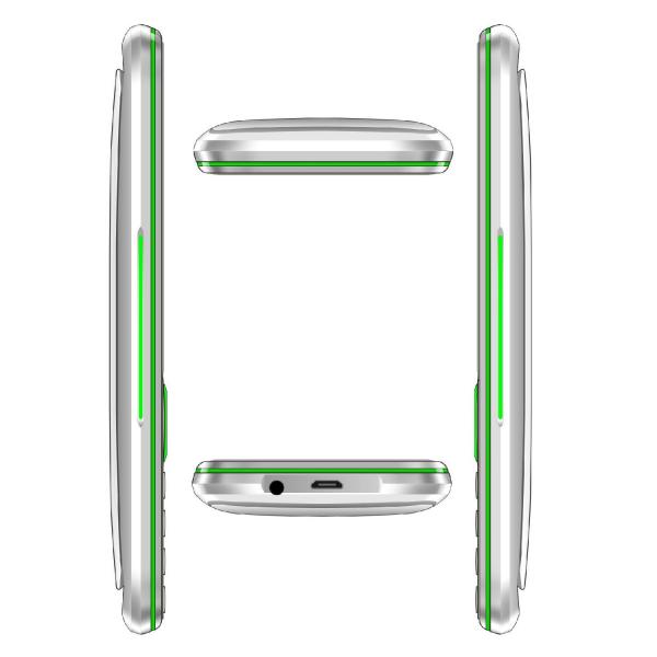Telefon mobil Samgle F9 Hulk, 3G, 1450 mAh, 64MB RAM, 128MB ROM, 2.8 inch, Lanterna, Radio, Dual SIM, Compatibil Digi Mobil 12