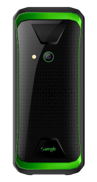 Telefon mobil Samgle F9 Hulk 3G Verde Resigilat 1