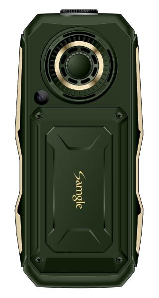 Telefon mobil Samgle S1 Thor, 3G, 4000 mAh, 64MB RAM, 128MB ROM, 2.4 inch, 0.08MP, Bluetooth, Lanterna, Dual SIM, Compatibil Digi Mobil 5
