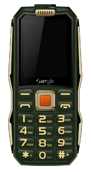 Telefon mobil Samgle S1 Thor, 3G, 4000 mAh, 64MB RAM, 128MB ROM, 2.4 inch, 0.08MP, Bluetooth, Lanterna, Dual SIM, Compatibil Digi Mobil 4