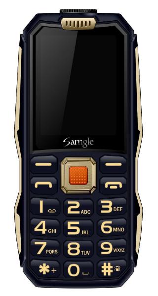 Telefon mobil Samgle S1 Thor, 3G, 4000 mAh, 64MB RAM, 128MB ROM, 2.4 inch, 0.08MP, Bluetooth, Lanterna, Dual SIM, Compatibil Digi Mobil 7
