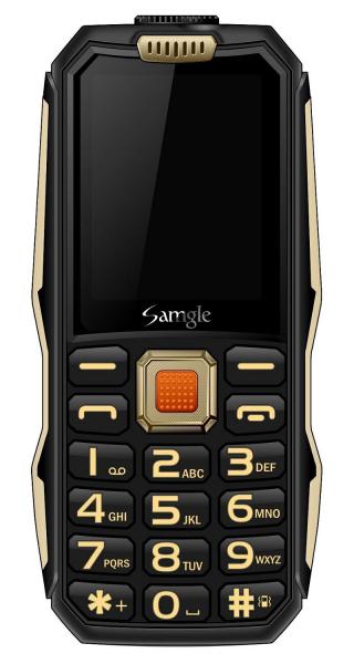 Telefon mobil Samgle S1 Thor, 3G, 4000 mAh, 64MB RAM, 128MB ROM, 2.4 inch, 0.08MP, Bluetooth, Lanterna, Dual SIM, Compatibil Digi Mobil 1