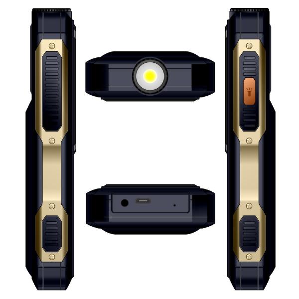 Telefon mobil Samgle S1 Thor, 3G, 4000 mAh, 64MB RAM, 128MB ROM, 2.4 inch, 0.08MP, Bluetooth, Lanterna, Dual SIM, Compatibil Digi Mobil 9