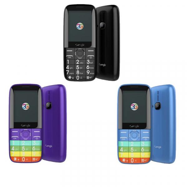 Telefon mobil Samgle Zoey 3G, Ecran 2.4 inch, Bluetooth, Digi 3G, Camera, Slot Card, Radio FM, Internet, DualSim 0