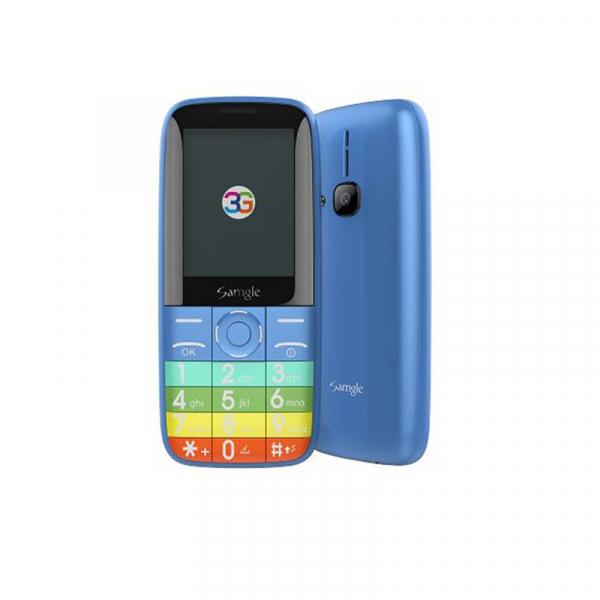 Telefon mobil Samgle Zoey 3G, Ecran 2.4 inch, Bluetooth, Digi 3G, Camera, Slot Card, Radio FM, Internet, DualSim 2