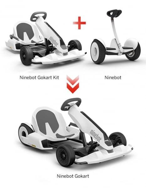 Pachet Segway Ninebot GoKart Kit N4MZ98 plus Segway Ninebot Mini S N3M240 imagine dualstore.ro 2021