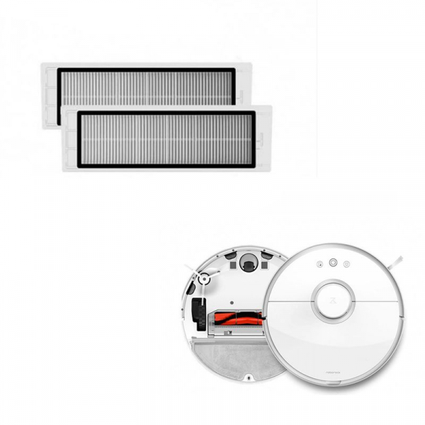 Set 2 Filtre pentru Aspirator Xiaomi Mijia Roborock Vacuum Cleaner 2 0
