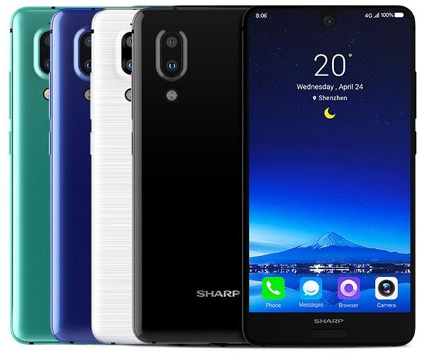 Telefon mobil SHARP AQUOS S2 C10, Android 7.1, 4GB RAM, 64GB ROM, 5.5 inch FHD+, Snapdragon 630 OctaCore, Face ID, NFC, 3020mAh, 4G 0