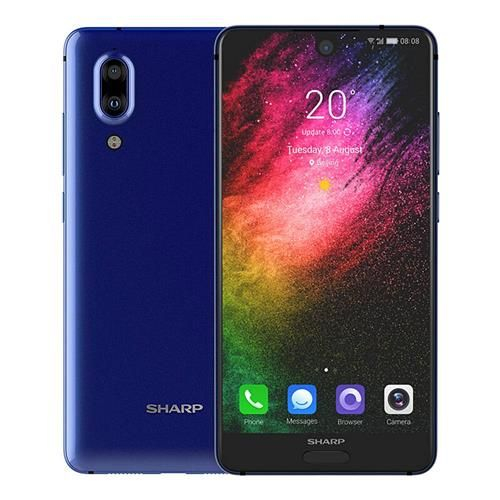 Telefon mobil SHARP AQUOS S2 C10, Android 7.1, 4GB RAM, 64GB ROM, 5.5 inch FHD+, Snapdragon 630 OctaCore, Face ID, NFC, 3020mAh, 4G 4