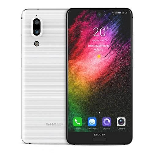 Telefon mobil SHARP AQUOS S2 C10, Android 7.1, 4GB RAM, 64GB ROM, 5.5 inch FHD+, Snapdragon 630 OctaCore, Face ID, NFC, 3020mAh, 4G 3