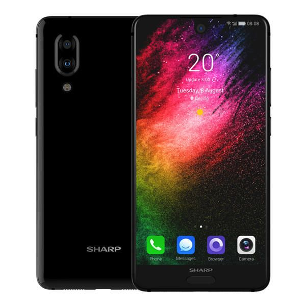 Telefon mobil SHARP AQUOS S2 C10, Android 7.1, 4GB RAM, 64GB ROM, 5.5 inch FHD+, Snapdragon 630 OctaCore, Face ID, NFC, 3020mAh, 4G 2