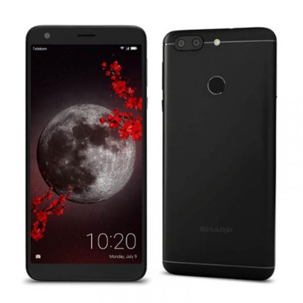Telefon mobil Sharp B10, Android 7.0, 3GB RAM, 32GB ROM, MT6750TOctaCore, 5.7 inch, Amprenta, Dual SIM 2