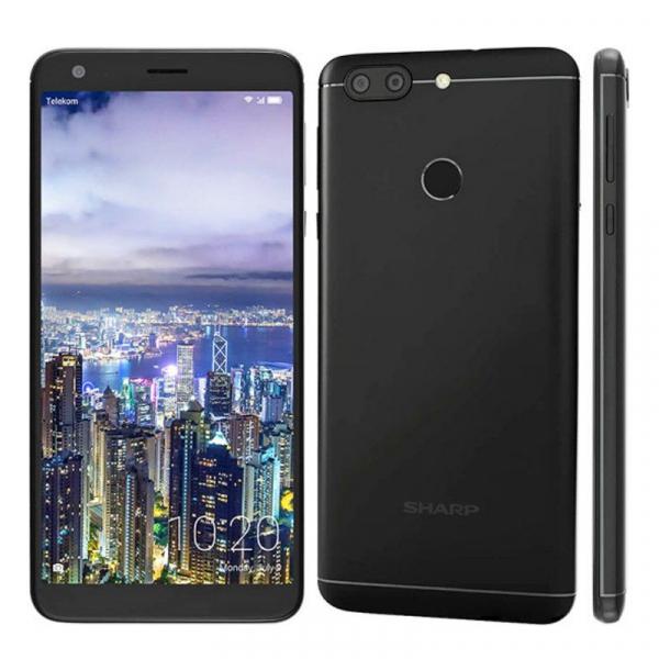 Telefon mobil Sharp B10, Android 7.0, 3GB RAM, 32GB ROM, MT6750TOctaCore, 5.7 inch, Amprenta, Dual SIM 0