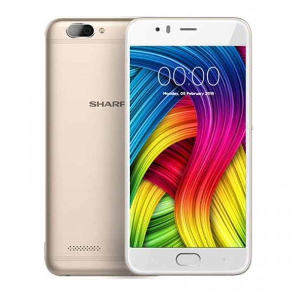 Sharp R1S 4G, Android 7, 3GB RAM 32GB ROM, 5.5 inch, Octa Core MT6750, Amprenta, DualSIM 1