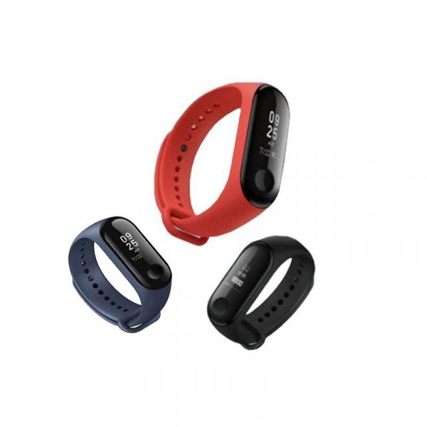 Smartband Xiaomi Mi Band 3 Global, folie protectie cadou, Waterproof, Touch OLED 0.78 inchi, Pedometru, Notificari, Ritm cardiac 1
