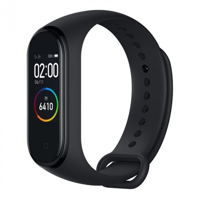 Smartband Xiaomi Mi Band 4, LCD Touch Screen, Waterproof, Ritm Cardiac, Fitness Tracker, Bluetooth 5.0, 135 mAh 2