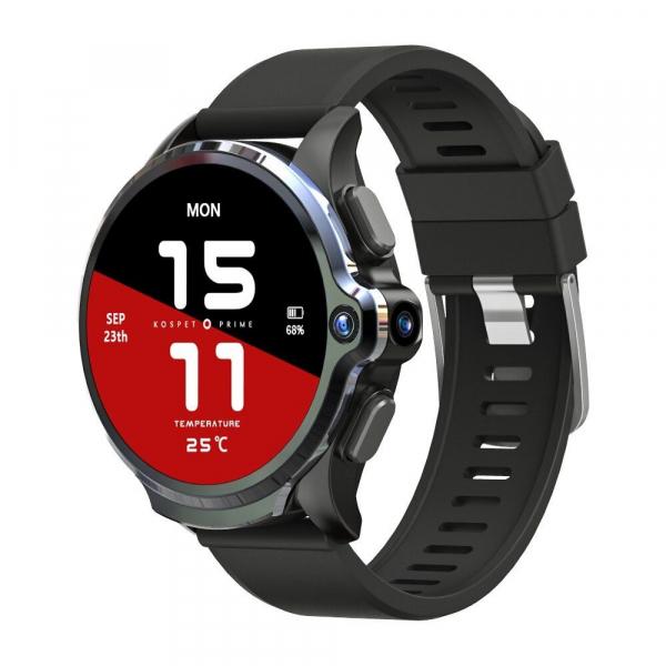 Smartwatch Kospet Prime, 4G, IPS 1.6inch Super Retina, 3GB RAM, 32GB ROM, Android 7.1.1, Wi-Fi, GPS, Cortex-A53 Quad Core, 1260mAh 0
