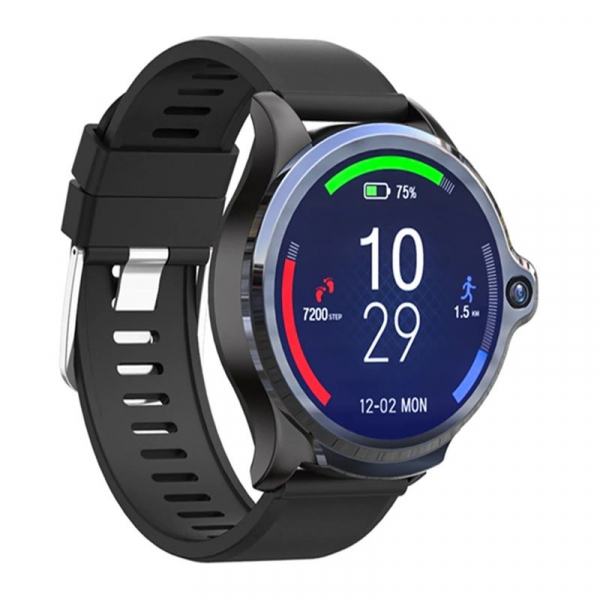 Smartwatch Kospet Prime, 4G, IPS 1.6inch Super Retina, 3GB RAM, 32GB ROM, Android 7.1.1, Wi-Fi, GPS, Cortex-A53 Quad Core, 1260mAh 1