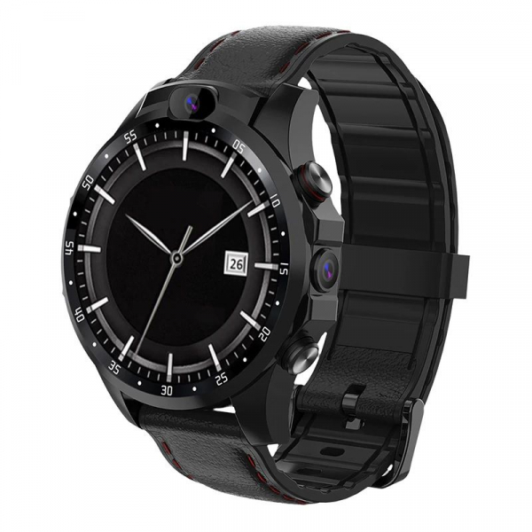Smartwatch Aiwatch V9, 4G, IPS 1.6inch, MTK6739 Quad core, 3GB RAM, 32GB ROM, Android 7.1.1, IP67, 2 camere, 800mAh 3