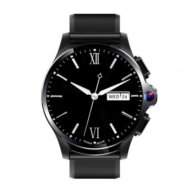 Smartwatch AllCall AWatch GT, 4G, IPS 1.6inch, 3GB RAM, 32GB ROM, Android 7.1, Wi-Fi, GPS, Cortex-A53 QuadCore, Face ID, 1260mAh, Negru 0