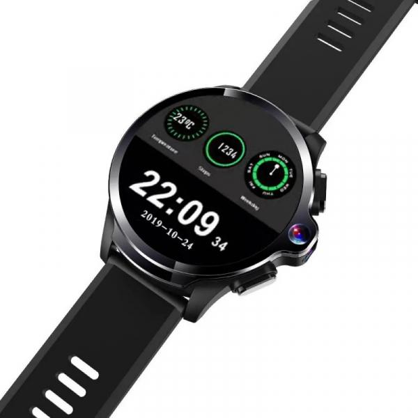 Smartwatch AllCall AWatch GT, 4G, IPS 1.6inch, 3GB RAM, 32GB ROM, Android 7.1, Wi-Fi, GPS, Cortex-A53 QuadCore, Face ID, 1260mAh, Negru 2
