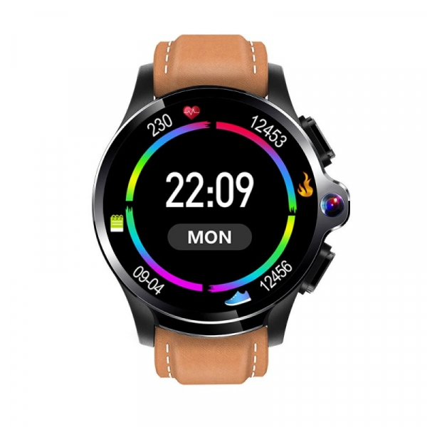Smartwatch AllCall AWatch GT, 4G, IPS 1.6inch, 3GB RAM, 32GB ROM, Android 7.1, Wi-Fi, GPS, Cortex-A53 QuadCore, Face ID, 1260mAh, Maro 1