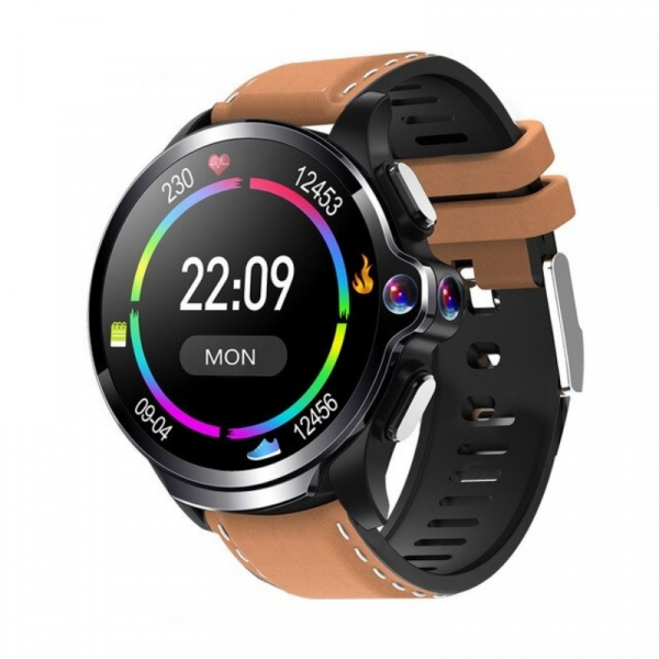 Smartwatch AllCall AWatch GT, 4G, IPS 1.6inch, 3GB RAM, 32GB ROM, Android 7.1, Wi-Fi, GPS, Cortex-A53 QuadCore, Face ID, 1260mAh, Maro 0