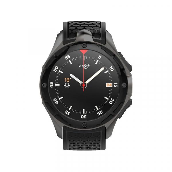 Smartwatch AllCall W2 3G, Waterproof IP68, 2GB RAM 16GB ROM, GPS, AMOLED 1.39, MTK 6580 Quad-core, Wifi, SIM imagine