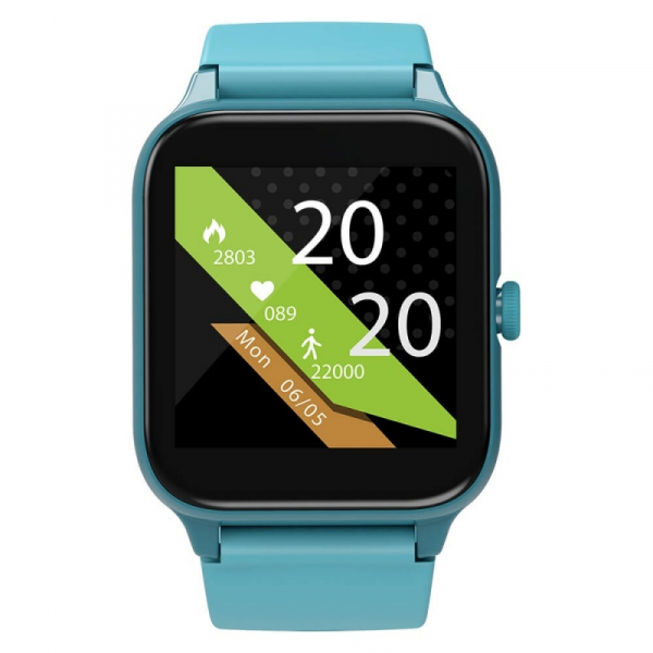 Smartwatch Blackview R3 Pro Verde, TFT 1.54 Touch screen, Ritm cardiac, Calorii, Fitness tracker, Monitorizare somn, IP68, 280mAh imagine dualstore.ro 2021