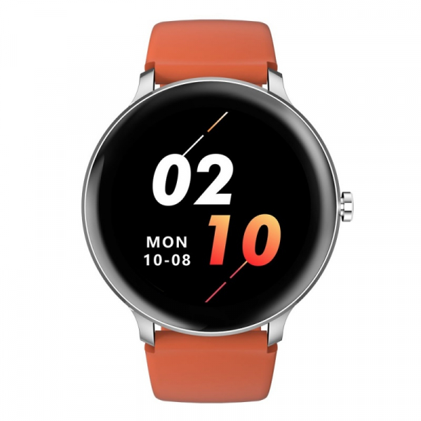 Smartwatch Blackview X2, LCD 1.3inch curbat 2D, Bluetooth, Control muzica, Waterproof 5ATM, 260mAh, Silver imagine dualstore.ro 2021