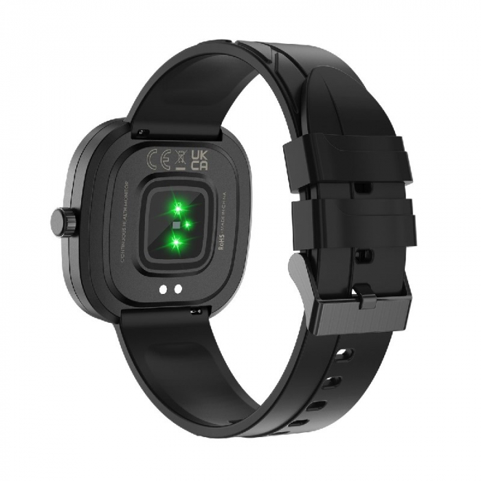 Smartwatch Doogee DG Ares Negru cu bratara din silicon [3]